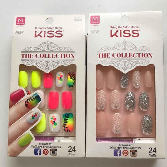 Kiss Collection Other   2 Packs Of Fake Nails   Poshmark